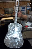 Custom Sheet Metal Guitar - Ohio